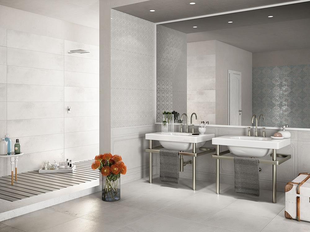 Badezimmer mit offener Dusche
